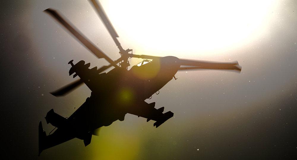 Vrtulník Ka-52