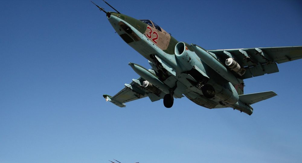 Ruské stíhačky Su-25