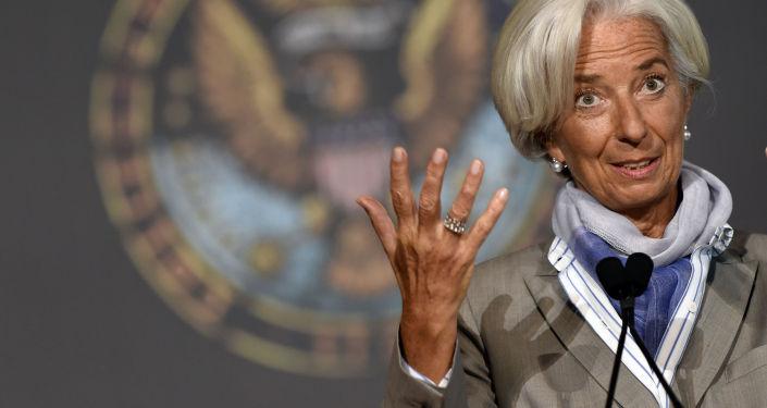 Christine Lagardeová, generální ředitelka Mezinárodního měnového fondu