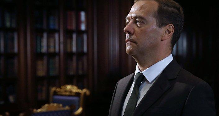 Ruský premiér Dmitrij Medveděv