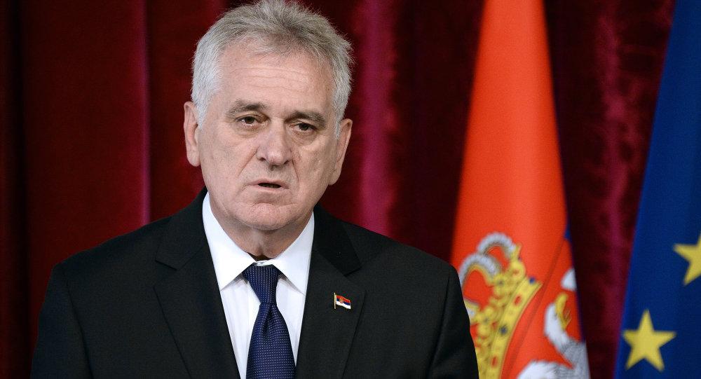 Srbský prezident Tomislav Nikolić