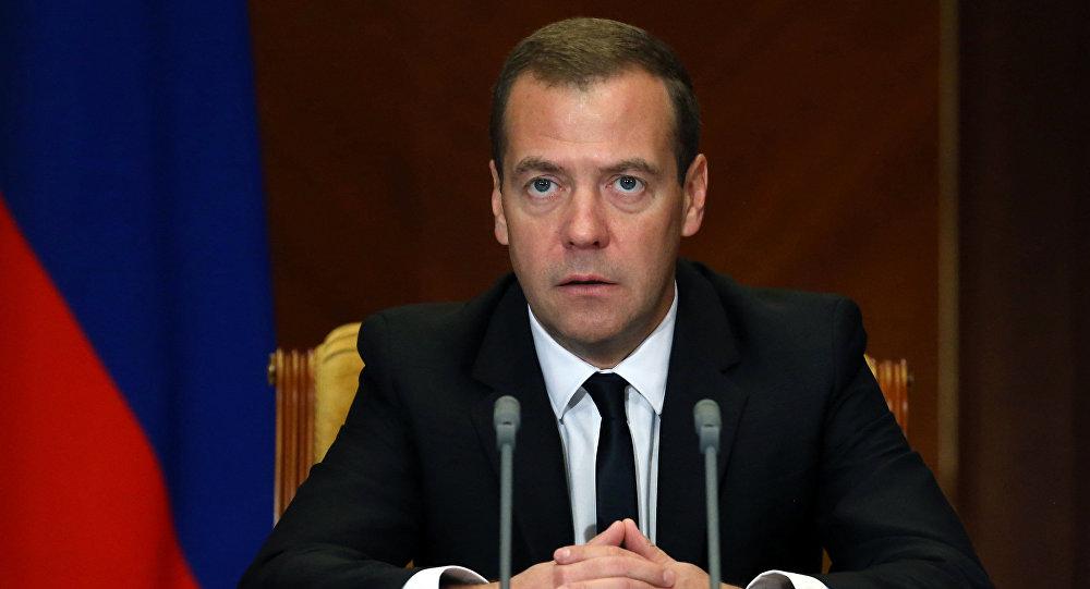 Premiér RF Dmitrij Medveděv