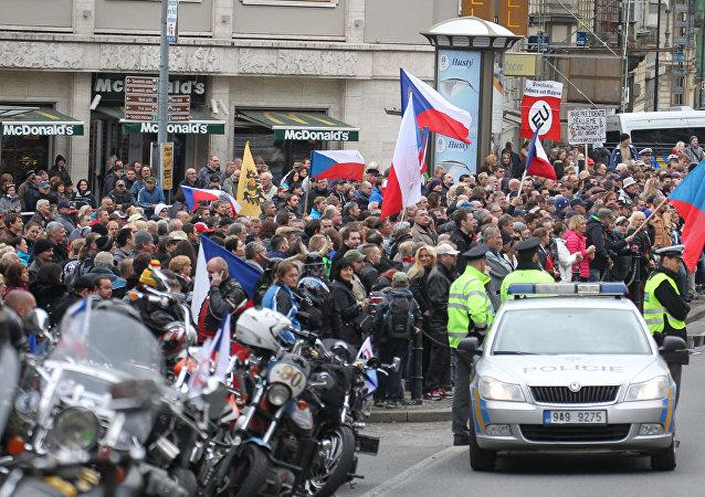 Mítink v Praze