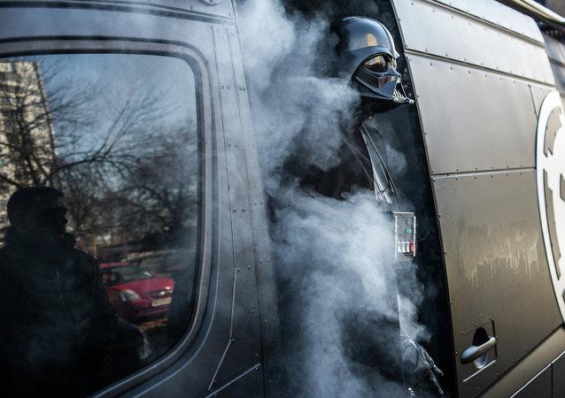 Ukrajinský Darth Vader