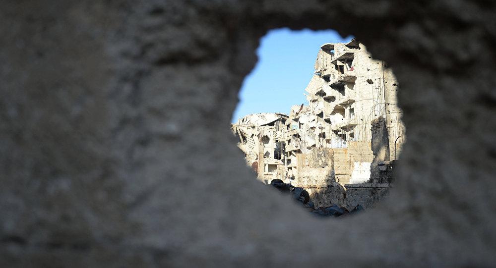 Situace v Sýrii, Damašek