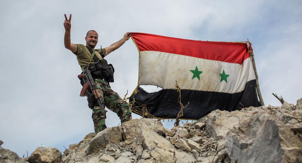 Příslušník syrské armády