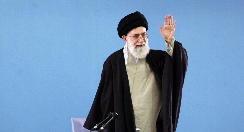 Nejvyšší vůdce Íránu ajatolláh Ali Hameneí