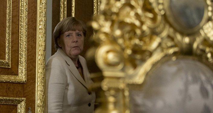 Německá kancléřka Angela Merkelová v Istanbulu