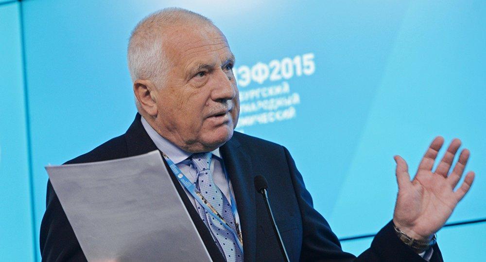 Vaclav Klaus Mladsi News: Co řekl Václav Klaus V Soči?
