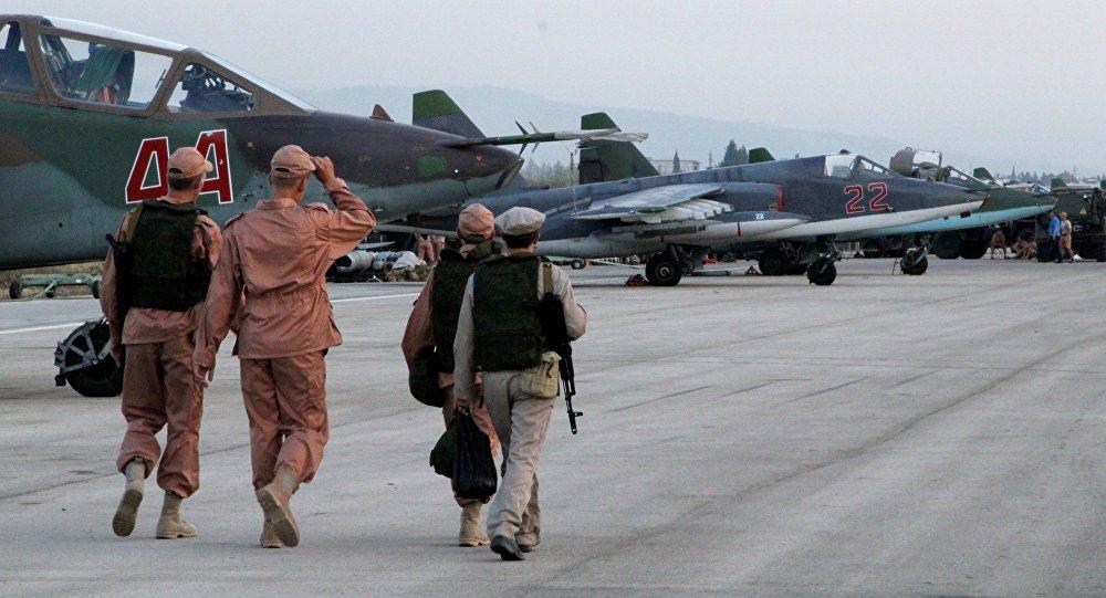 Ruská základna Hmeimim v Sýrii