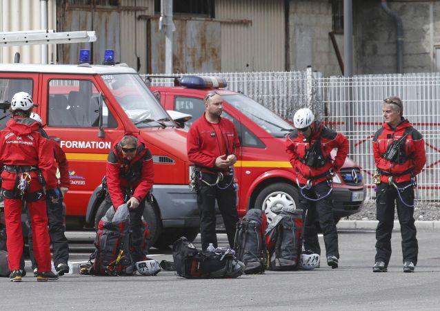 Francouzští hasiči
