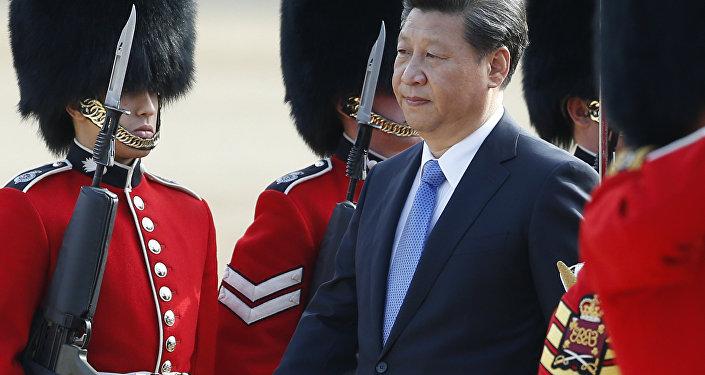 Si Ťin-pching ve Velké Británii