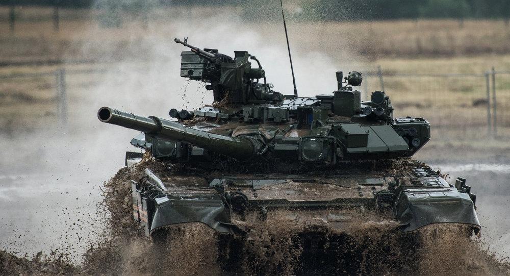 Tank T-90. Ilustrační foto