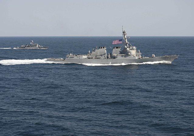 Americký torpédoborec Lassen