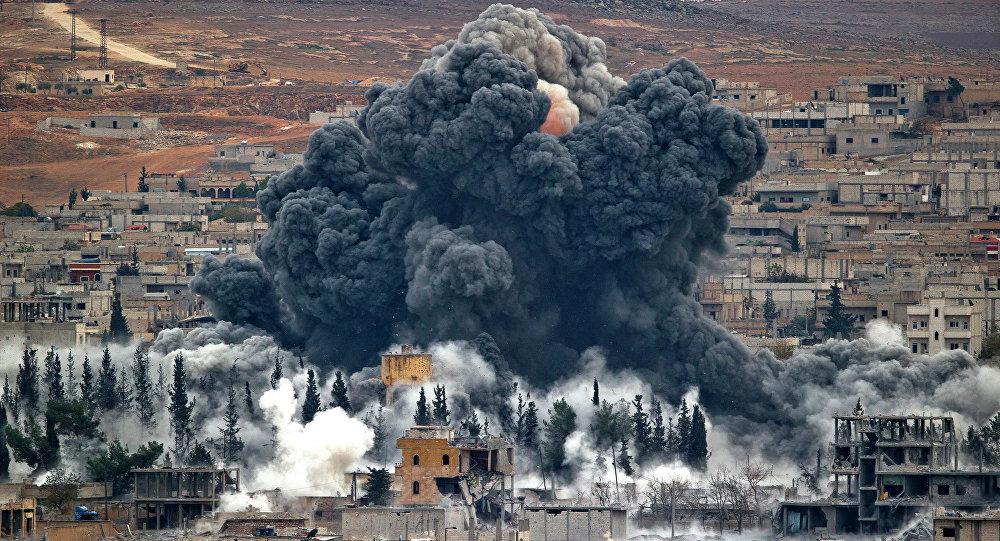 Letecký útok USA v Sýrii