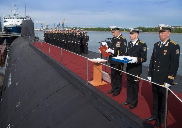 Ponorka Severodvinsk projektu Jaseň