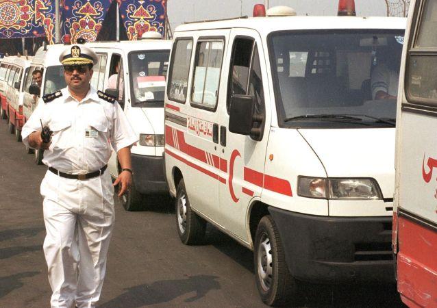Vozy pohotovosti Egypta