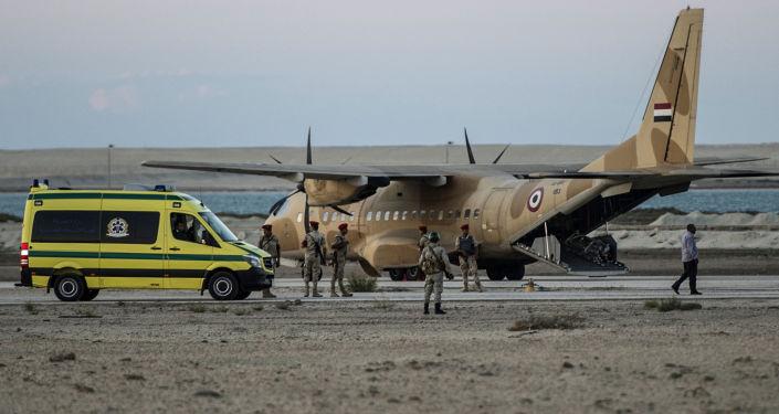 Místo pádu Airbusu A321 letecké společnosti Kogalymavia