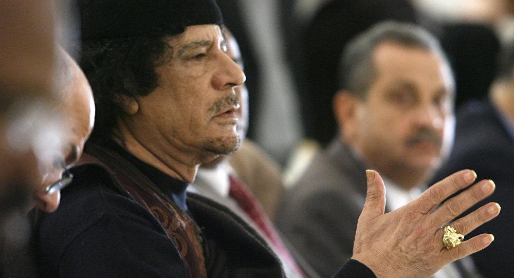 Muammar Kaddáfí. Ilustrační foto