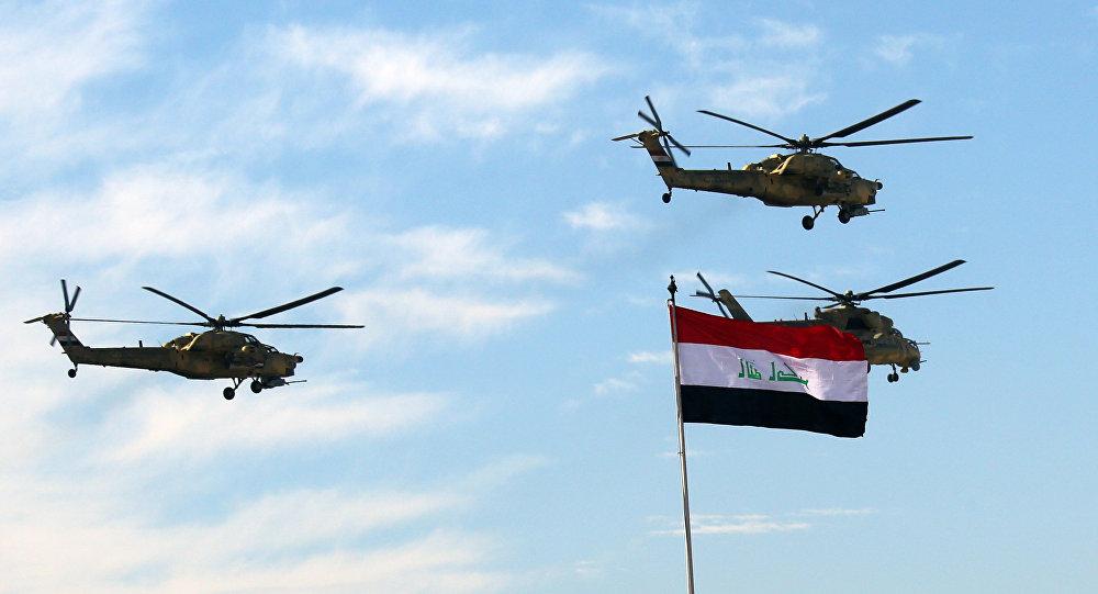 Vrtulníky irácké armády