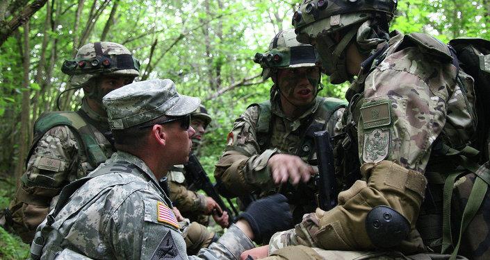 Cvičení USA a Chorvatska