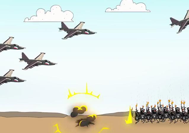 Obamova noční můra: Rusko ničí IS