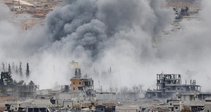 Bombardování USA v Sýrii