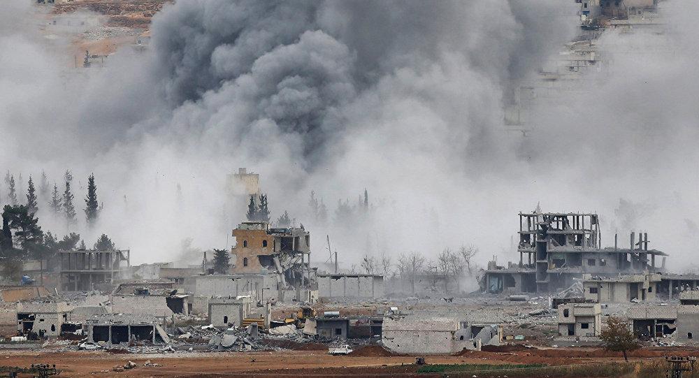 Bombardování USA v Sýrii. Ilustrační foto