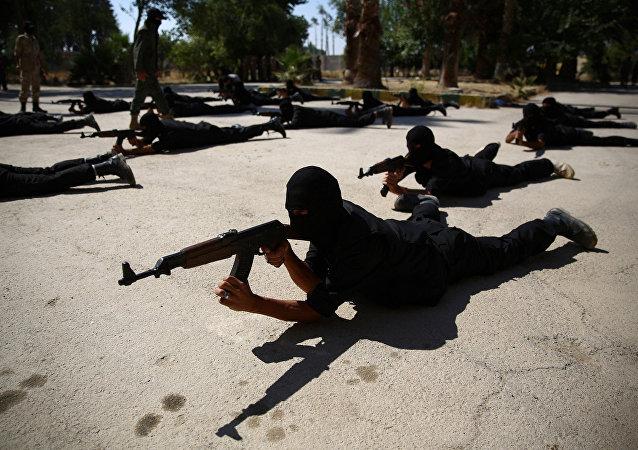 Příslušníci syrské opozice