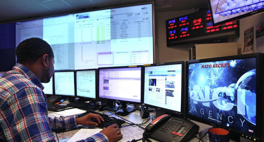 Počítačový specialista v technickém centru NATO