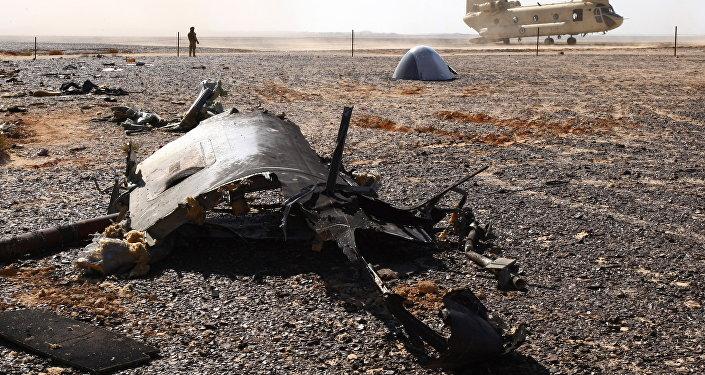 Místo nehody Airbusu A321