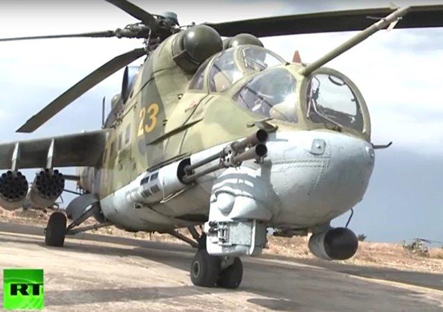 Létající tank: legendární Mi-24 v Sýrii