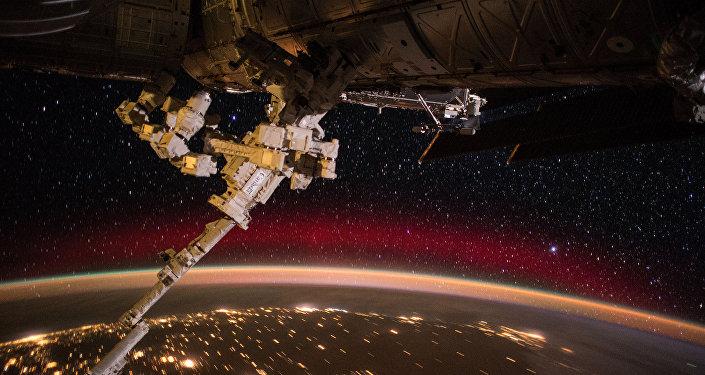 Pohled na Zemi z vesmírné stanice ISS