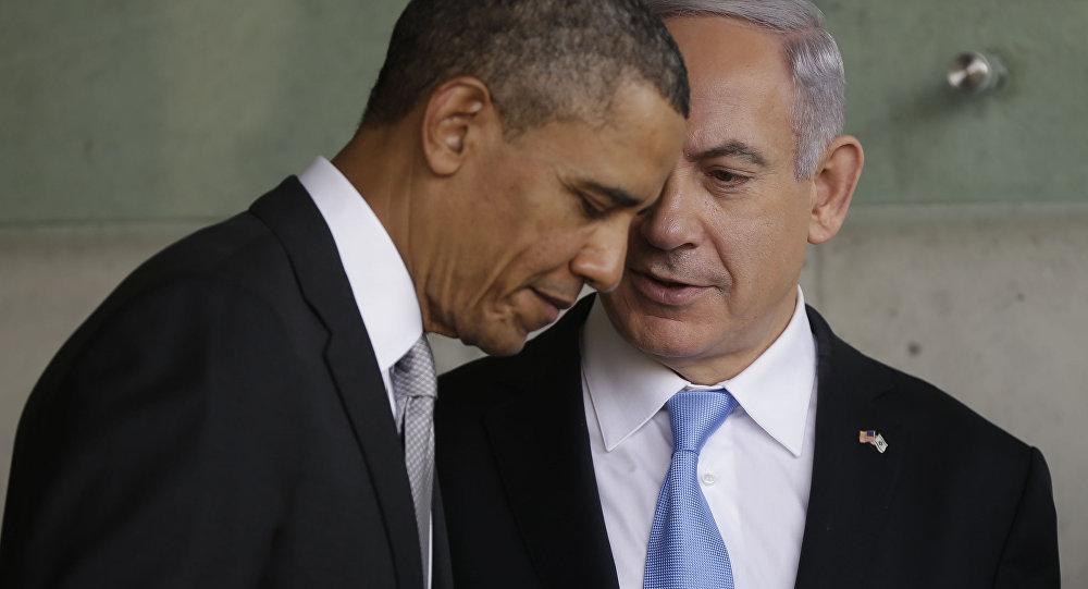 Izraelský premiér Benjamin Netanjahu odletěl do USA, přičemž hlavní je na programu jeho nadcházejících jednání s prezidentem Barackem Obamou