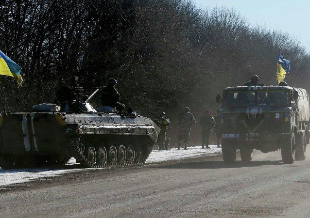 Ukrajinské tanky (ilustrační foto)