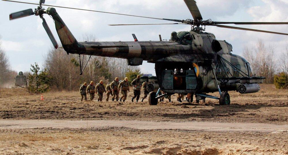 Ukrajinský vrtulník