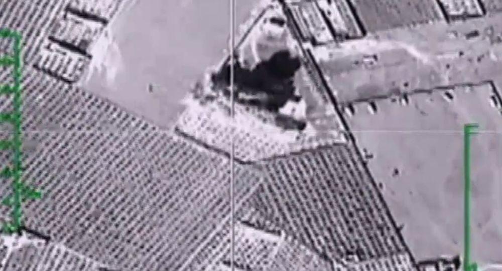 Údery ruského letectva v Sýrii