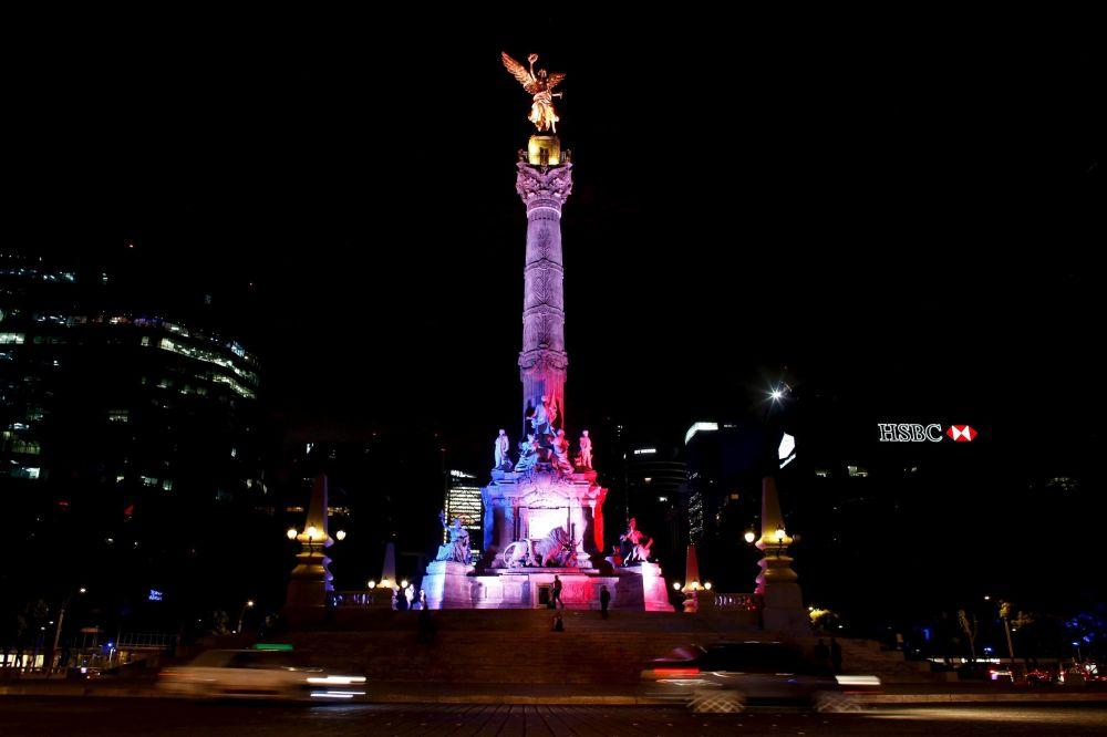 Anděl nezávislosti v Ciudad de México