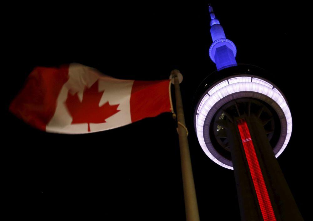 CN Tower v kanadském Torontu