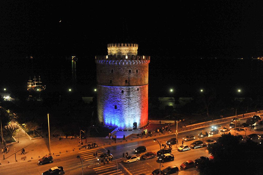 Bílá věž, Soluň, Řecko