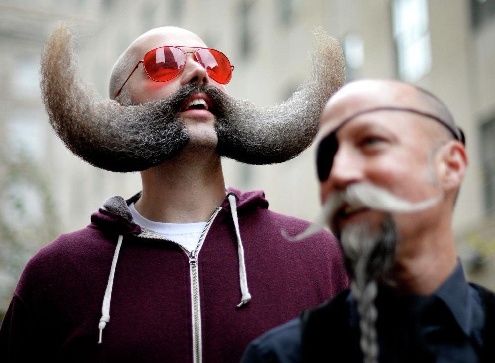 Mistrovství vousů a knírů v New Yorku