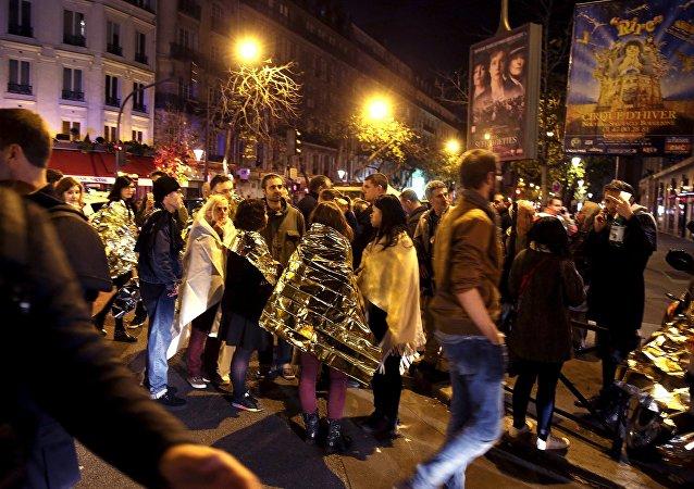Nedaleko koncertní síně Bataclan v Paříži