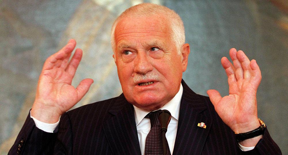 Bývalý český prezident Václav Klaus. Ilustrační foto