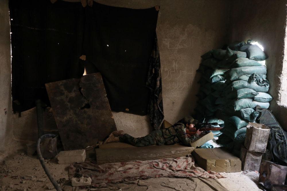 Ženský prapor v Sýrii