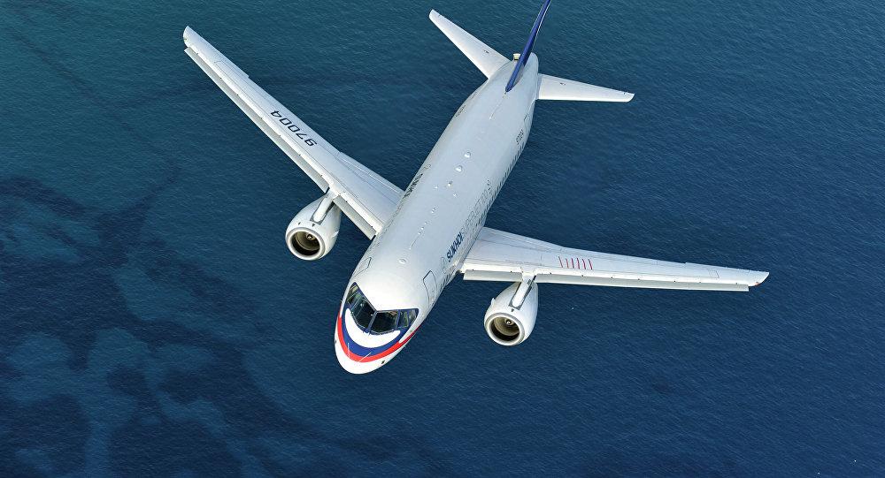 Sukhoi Superjet 100. Ilustrační foto