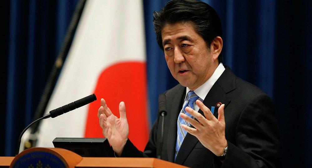 Ministerský předseda Japonska Šinzó Abe