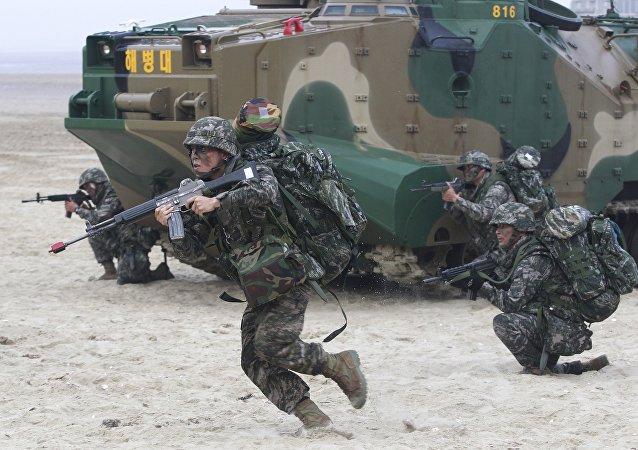 Jihokorejští vojáci
