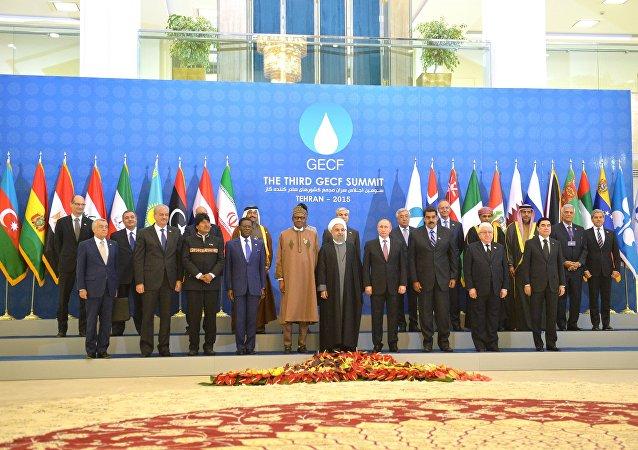 Ruský prezident Vladimir Putin v Teheránu na fóru zemí vyvážejících plyn