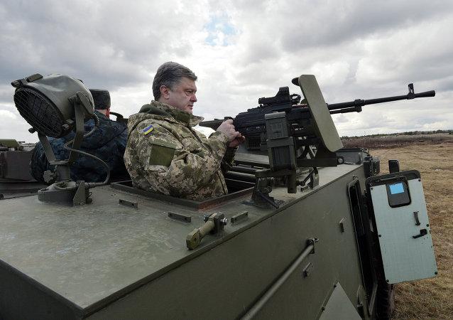 Ukrajinský prezident Petro Porošenko. Archivní foto