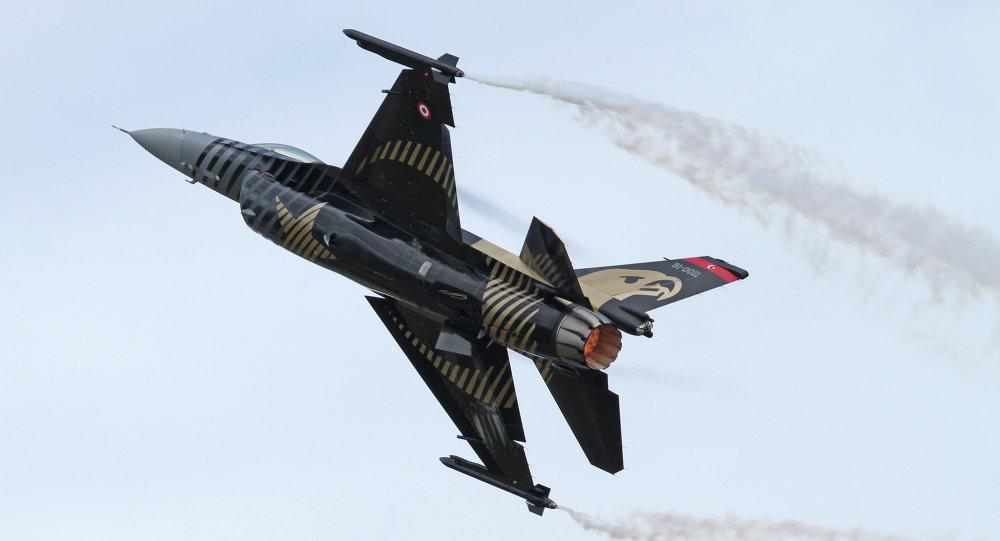 Turecká stíhačka F-16C